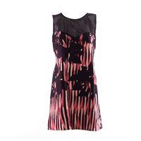 Rinascimento vestito corto da donna, rosa