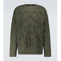 LOEWE pullover anagram in lana