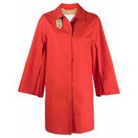 Mackintosh cappotto lintmill corto - arancione