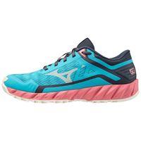 Mizuno scarpe trail running wave ibuki 3 eu 37 scuba blue / snow white / tea rose