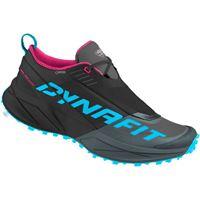 Dynafit scarpe trail running ultra 100 goretex eu 35 black out / flamingo