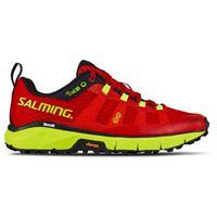 Salming scarpe trail 5 eu 36 poppy red / safety yellow