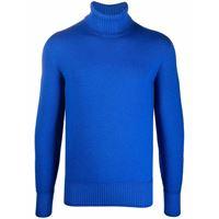 Drumohr maglione a collo alto - blu
