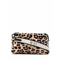 Nº21 eva leopard-print crossbody bag - toni neutri