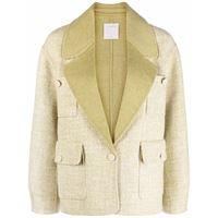 Sandro Paris giacca monopetto - verde