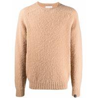 Mackintosh maglione a girocollo hutchins - toni neutri