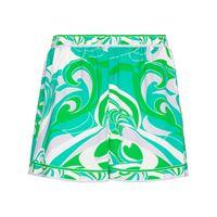 Emilio Pucci shorts albizia con stampa - verde