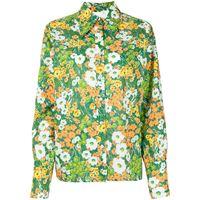 Alice McCall camicia a fiori california sun - verde