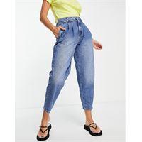 Whistles - authentic - jeans con pieghe sul davanti, colore blu scuro