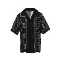 AMIRI camicia con logo playboy m nero cotone