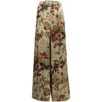 Pierre-Louis Mascia pantaloni a fiori - 101 beige