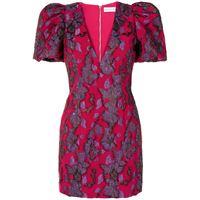 Rebecca Vallance vestito corto con ricamo kassia - rosa